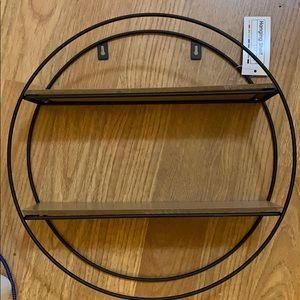 Target Wall Art - NWT Target hanging shelf- circle